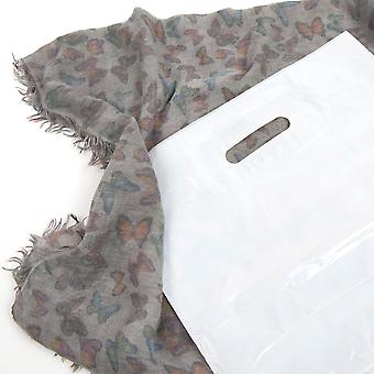 Weller Standard White Polythene Patch Handle Carrier Bags