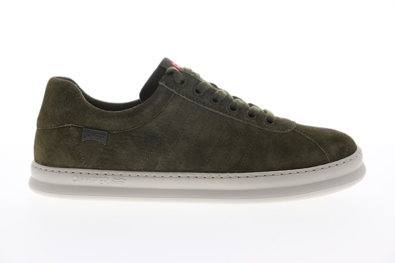 Camper Runner Vier Mens Green Suede Low Top Sneakers Schoenen zw76HN