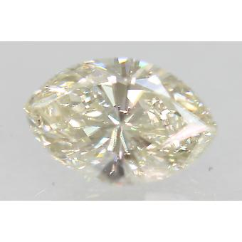 Sertifioitu 0,57 karaatin H Väri VVS1 Markiisi Natural Loose Diamond 6.81x4.47mm