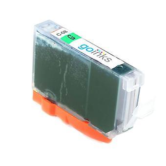 1 zöld tintapatron a Canon CLI-8G kompatibilis/nem OEM-kompatibilis/nem OEM-ek helyett a Go festékekből