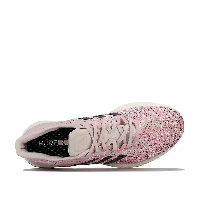 Chaussures De Course Femmes-apos;s Adidas Pureboost Dpr Running Shoes En Rose