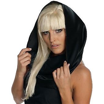 سيدة غاغا الحجاب الأسود