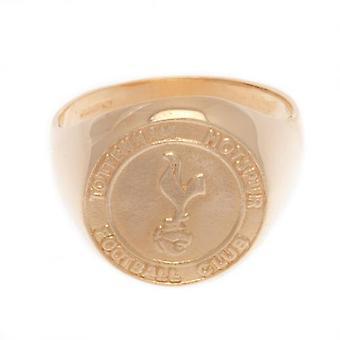توتنهام هوتسبر 9ct الذهب كريست خاتم المتوسطة
