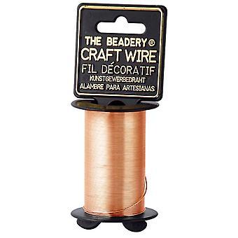 Craft Wire 24 Gauge 25yd-Copper