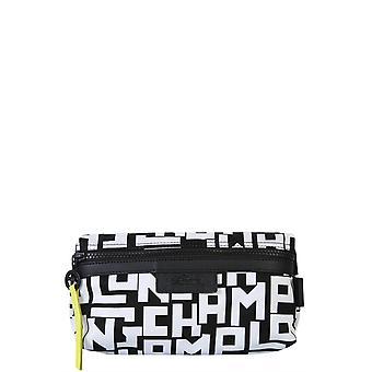 Longchamp 34061412067 Women's White/black Polyester Beauty Case
