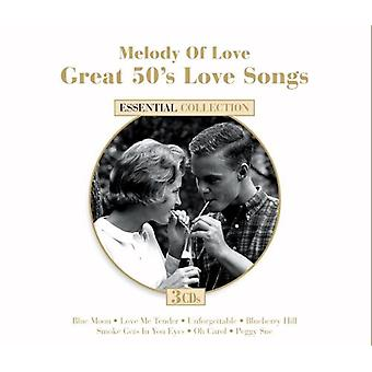 Melody of Love: 50's Love Songs - Melody of Love: 50's Love Songs [CD] USA import