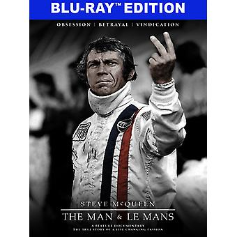 Steve McQueen: The Man & Le Mans [Blu-ray] USA import