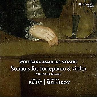 Faust, Isabelle / Melnikov, Alexander - Mozart: Sonatas for Fortepiano & Violin 1 [CD] USA import