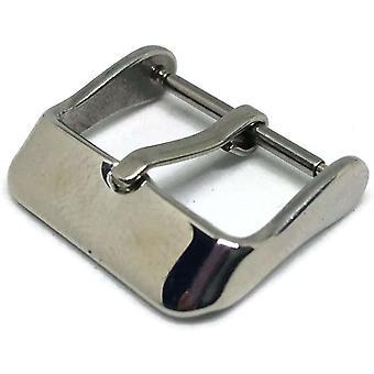 Boucle de courroie de montre taille acier inoxydable 8mm à 20mm pack de 5