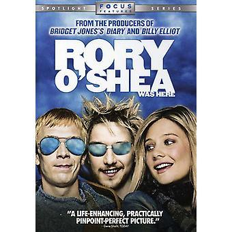 Rory O'Shea Was Here [DVD] USA import