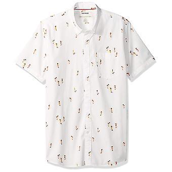 Goodthreads Men&s Standard-Fit Koszula poplin z krótkim rękawem, deskorolka...