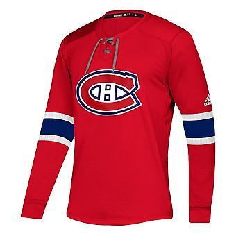Adidas Nhl Montreal Canadiens Platinum Ls Jersey Tee