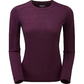 Montane Women's Primino 140 Long Sleeve T-Shirt Purple