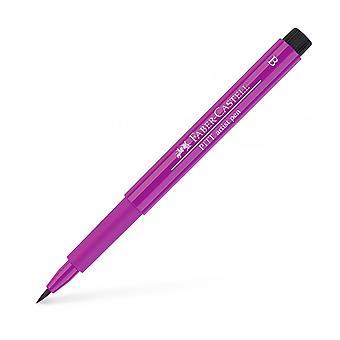 Faber Castell Indian Ink Artist Pen Brush 129 Pink Madder Lake