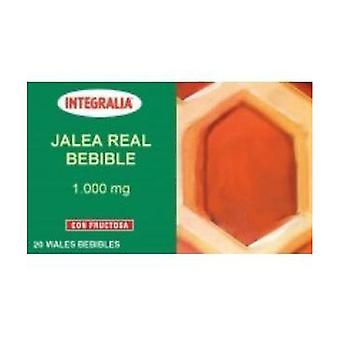 Geleia Real Bebível 20 frascos de 1000mg