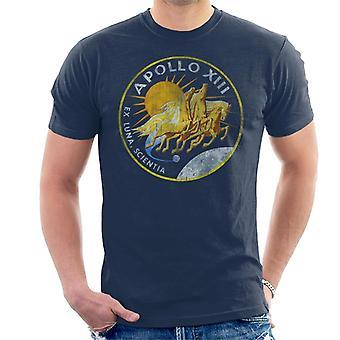 NASA Apollo 13 Mission merke Distressed menn t-skjorte