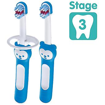 MAM Baby's Brush Double Pack With Safety Shield