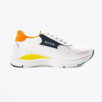 Paul Smith  - Leather 'Ranger' Trainers - White