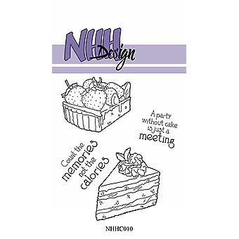 NHH Design Pieces of Cake Clear Stamps