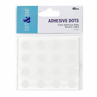 Trimcraft Dot & Dab Glue Dots