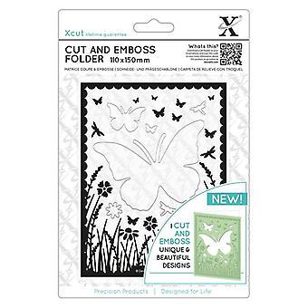 Xcut Butterfly Aperture Cut & Emboss Folder