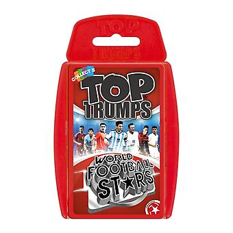 World Football Stars 2016 Top Trumps Card Game