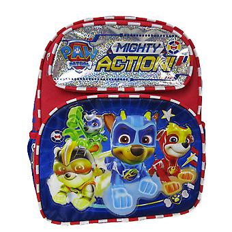 Small Backpack - Paw Patrol - Mighty Action Blue 12