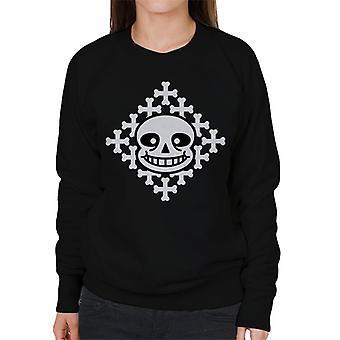 Sans Face Undertale Women's Sweatshirt