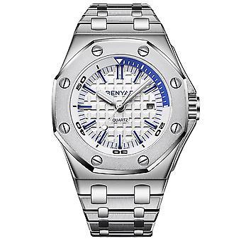 Angular hard air duży stalowy pasek zegarek