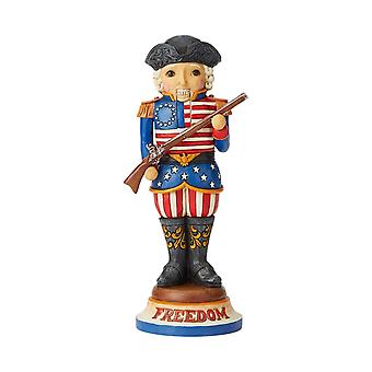 Jim Shore Heartwood Creek American Nutcracker Figurine