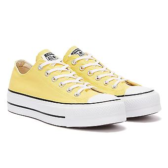 Converse All Star Lift Ox Womens Butter Yellow Trainers