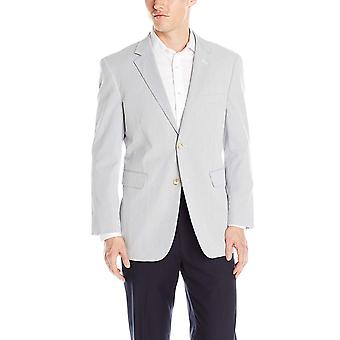 Nautica Men's Pin Cord Suit samostatná bunda, modrá/biela, 44 dlhý