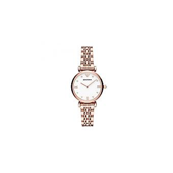 Armani Watches Ar11267 Emporio Rose Gold Stainless Steel Ladies Watch