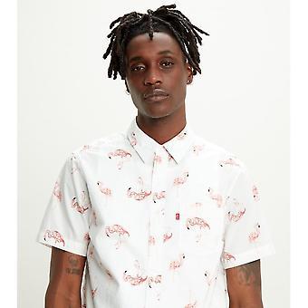 Levi's® Levis Sunset 1 Pocket Standard Camicia (flamingo)