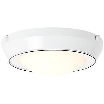 BRILLIANT Lamp Plains Loftlampe 29cm hvid | 2x A60, E27, 10W, egnet til normale lamper (ikke inkluderet) | Skaler A++