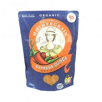 QUINOA MOTHERGRAIN LTD - Organic/Fairtrade Express Quinoa Spicy Mexican