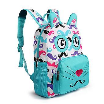 Girl Cotton Print Backpack