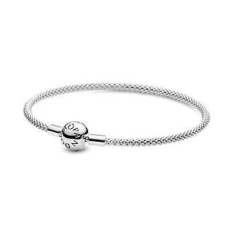 Pandora 596543 Frauen's Sterling Silber Mesh Armband