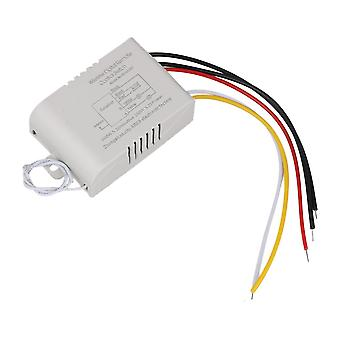 Type B 220V 2-way Wireless Switch Kit with Bracket for Lights Multicolor