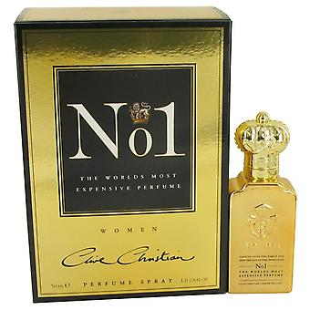 Clive Christian No. 1 Pure parfum Spray door Clive christelijke 1.6 oz Pure parfum Spray