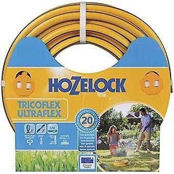 Hozelock Tricoflex Ultraflex Hose, 20m length hosepipe, Yellow (12.5 mm x 20 m)