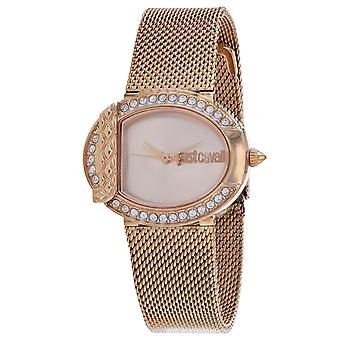 Just Cavalli Women's C Rose Gold Dial Watch - JC1L110M0105