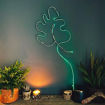 Make Your Own Neon Moving Light Green