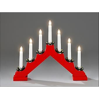 Konstsmide 7 Bulb Welcome Light Red 2262-510