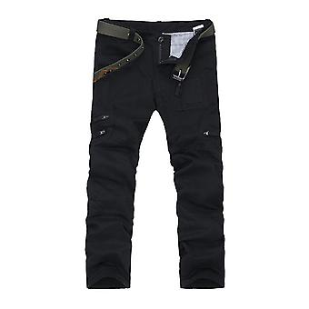 Cotton Men's Washed Trousers Camouflage Print Elastic Band Trousers Student Casual Trousers