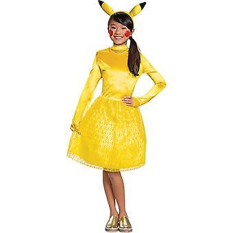 Girl's Pikachu Classic Costume
