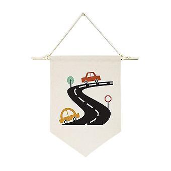 Bannière de mur de pendaison