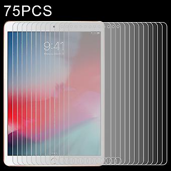 75 PCS 0.4mm 9H Surface Hardness Explosion-proof Tempered Glass Film for iPad 5/6/7,iPad Air 1/2  9.7 inch