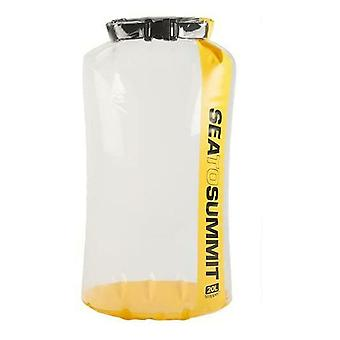 Sea to Summit Clear Stopper Dry Bag - Yellow 20 Litre