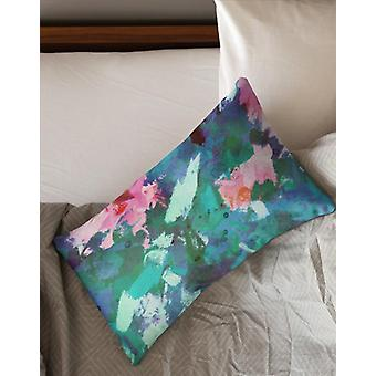 Mono art rectangle pillow